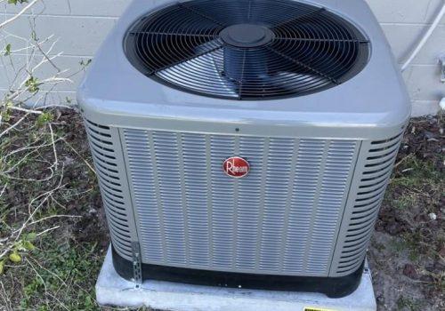 Rheem AC unit Tampa AC installation