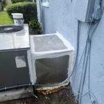 ac drain pan AC capacitor