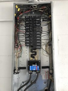 AC Repair and Service Air Conditioner Unit Before and After HVAC Service Tampa AC circuit breaker