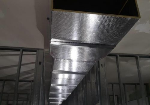 Before and After HVAC ductwork HVAC Service Tampa AC duct installation